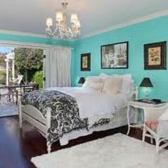 Teal ideas for my bedroom