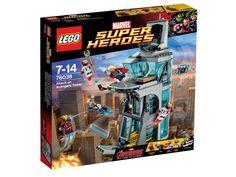 LEGO 76038 Attack on Avengers Tower 1360 punten