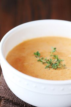 Lobster Bisque - so easy and delicious to make homemade! | gimmesomeoven.com