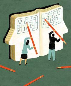 Revising the DSM #illustration  ©James Steinberg