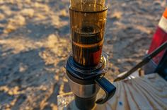 It's ready to drink espresso style or you can top it off with your remaining hot water for an Americano. Espresso Coffee, Coffee Cups, Coffee Maker, Camping Coffee, How To Make Coffee, Great Coffee, Coffee Beans, Drinking, Canning
