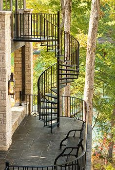 Exterior staircase - The Heirloom Companies, Heirloom Stair & Iron