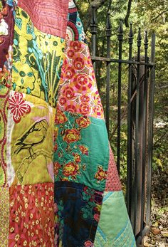 THE Bold Colors, Fiber Art, Color Blocking, Quilt Patterns, Doodles, Quilts, Bird, Adventure, Blanket