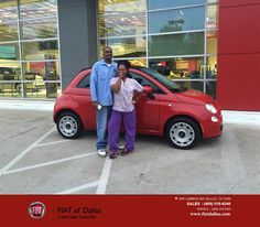https://flic.kr/p/EEFf9p | Congratulations Monica on your #FIAT #500c from Donald Walker at Fiat of Dallas! | deliverymaxx.com/DealerReviews.aspx?DealerCode=F741