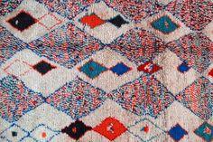 Moroccan Boucherouite rug!