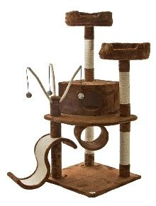 Amusing Cat Tree For Large Cats By Gopetclub Cat Condo Cat Tree Condo Tree
