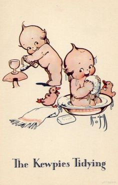 Kewpie on The Moon Rose O/'Neil The Ashers Kewpies Vintage Postcard Vintage Kewpie Postcard