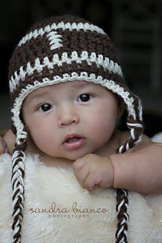 Football Newborn Hat