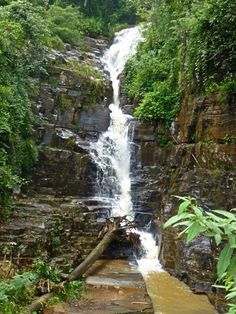 Waterfall, Sri Lanka