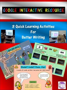 A or An, There or Their or They're Digital Interactive Resource Grammar And Punctuation, Teaching Grammar, Teaching Reading, Teaching Tips, Ela Classroom, Classroom Activities, Learning Activities, Google Classroom, Cool Writing