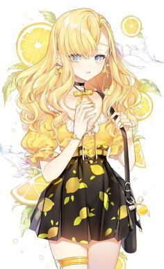 anime mujer H.) We Heart It - anime Anime Neko, Manga Kawaii, Chica Anime Manga, Kawaii Anime Girl, Anime Oc, Cool Anime Girl, Pretty Anime Girl, Beautiful Anime Girl, Anime Art Girl
