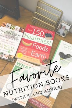 I asked one of my friends if she would like to borrow some of my nutrition books that advocate a plant-based diet but also include a balanced approach to eating sustainable and humanely-raised animal foods like wild salmon, grass-fed beef, and pastured eggs. These were the five favorite nutrition books I suggested. Positive Body Image, Grass Fed Beef, Plant Based Diet, Superfoods, Real Food Recipes, My Books, Nutrition, Healthy