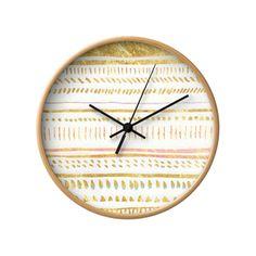 Desert Gold Wall Clock