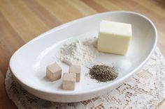 How to Make Gravy Out of Bouillon Cubes - it works with bouillon cubes, flour, butter and pepper