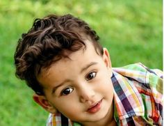 Baby Boy Haircuts For Curly Hair