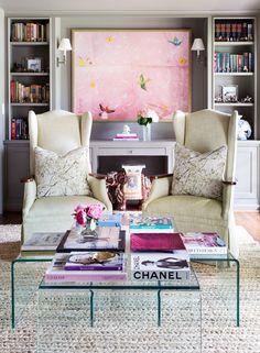 Jennifer Barron Interiors, Living Room