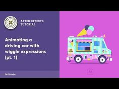 After Effects Tutorial - Driving Vehicle (with wiggle expressions) - YouTube