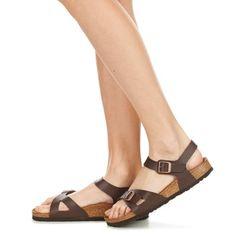 Shoes Női Szandálok / Saruk Birkenstock RIO Barna