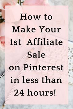 Learn Affiliate Marketing Quickly and Easily to start making money on Pinterest #afflink