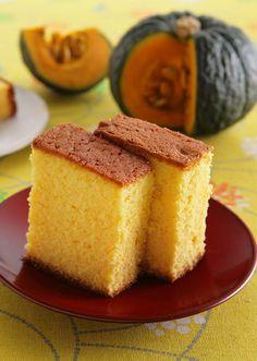 かぼちゃのカステラ のレシピ・作り方 │ABCクッキングスタジオのレシピ   料理教室・スクールならABCクッキングスタジオ