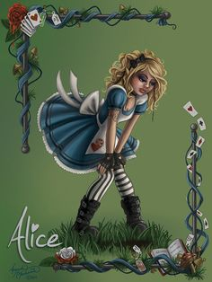 Alice by Amanda McManaman [©2014]