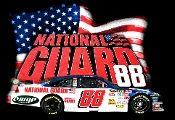 Dale Earnhardt Jr. T-Shirt - National Guard #88.