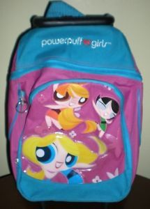 Child's Powerpuff Girls Rolling Backpack | eBay