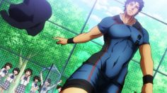 Zanba Ryujin is a fine specimen of a man All Out Anime, Hot Anime Guys, I Love Anime, Anime Sexy, Cute Black Guys, Rugby Players, Male Beauty, Bellisima, Makeup Looks