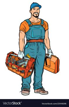 Find Repairman Handyman Service Professional Pop Art stock images in HD and millions of other royalty-free stock photos, illustrations and vectors in the Shutterstock collection. Thousands of new, high-quality pictures added every day. Retro Vector, Vector Free, Sports Day Poster, Caricature, Desenho Pop Art, Business Cartoons, Appliance Repair, Swagg, Cartoon Characters