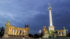 Heroe's Square by kanyecc1st #Budapest #travel #Hungary #Europe