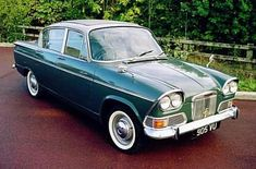 1963-65 Humber Sceptre Mk I Classic Cars British, British Car, Cars Uk, Classic Mercedes, Old Bikes, Commercial Vehicle, Car Pictures, Old Cars, Motor Car