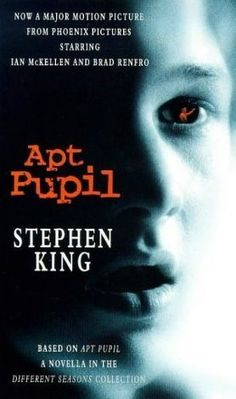 """READ BOOK """"Apt Pupil by Stephen King"""" touch kindle audio ebook page free online txt Book Club Books, Book Nerd, The Book, Good Books, Books To Read, My Books, Stephen King Movies, Kings Movie, Steven King"""