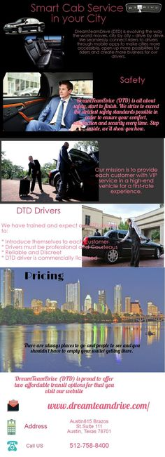 DreamTeamDrive (DTD) is evolving the way the world moves, city by city – drive by drive. We seamlessly connect riders to drivers through mobile apps to make cities more accessible, open up more possibilities for riders and create more business for our drivers.