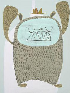 Bear monster - Matt Stephens