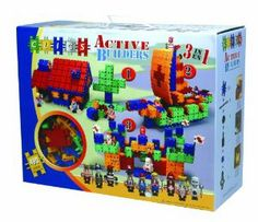 Clics Active Builder by Clics. $49.99. Manipulative toy. Great for fine motor skills. Occupational therapy toy. Educational construction toy set. Make a fantastic castle, ship or farm and play with 9 Clics people. From the Manufacturer                Clics box 490 pieces including accessories plus 9 Clics people and stickers. As well as instructions to build a house, ship and a castle. It is manipulative, occupational therapy and educational toy. Great for fine moto...