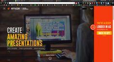 Emaze_New Presentation Online Tool