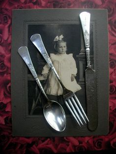 Vintage Victorian Youth Flatware Set by LionheartGalleries on Etsy