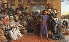 :William Holman Hunt - The Finding of the Saviour in the Temple, 1860