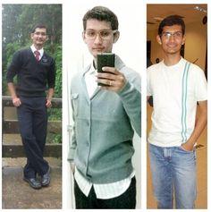 I'm mormon! eu na missão em 2012, na capela em 2013 e a do meio eu em 2014 #mormonguy #Lds #Nerdy