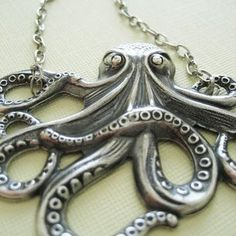 Expression Through Fashion: Obsession: Octopus Jewelry!