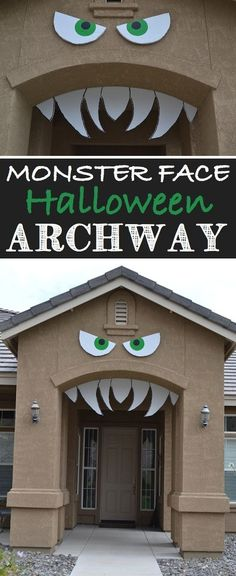 16 Awesome Homemade Halloween Decorations - Halloween DIY by Raelynn8 #AloetteFrightNightPartyNight #AloetteUpstate