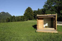 Yeta Mimetic Eco-Hut by Flavio Galvagni Gothic Architecture, Architecture Design, Main Image, Going Off The Grid, Building A Cabin, Small Buildings, Reggio Emilia, Prefab Homes, Exterior