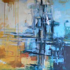 Carolina Brunet. Reflected. www.carolinabrunet.com Reflection, Street Art, Abstract Art, Sculpture, Artist, Artwork, Poster, Color, Work Of Art