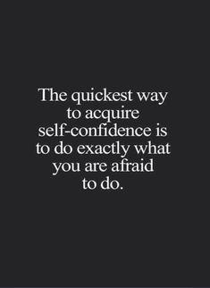 Walk through the fear