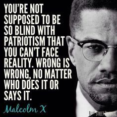 Not Supposed To Be So Blind - Tap to see more of the amazing inspirational and forward pushing Malcom X quotes! - @mobile9