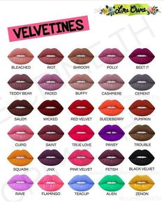 Lime Crime Lipstick, Lipstick Shades, Lipstick Colors, Lip Colors, Lime Crime Makeup, Lipstick Swatches, Makeup Swatches, Mac Lipstick, Matte Lipsticks