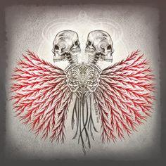 Vanitas Veins, Dark Gothic Horror Art, Illustration by Sherrie Thai of Shaireproductions.com