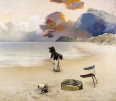 Poul Anker Bech, Beach Cow, 1997