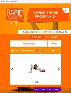 Rapid Results Lean Legs