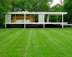 Mies Van der Rohe - Casa Farnsworth -  126 Aniversario de su nacimiento - Un Clásico que Sigue Vigente
